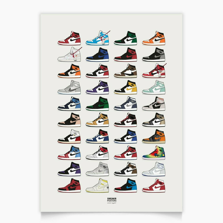 Air Jordan 1 Collection