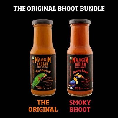 The Original Bhoot Bundle - OH YEA HOT SAUCE BOSS !!