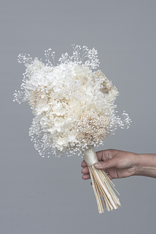 The Paris - Micro bridal set  - Brides bouquet & buttonhole package