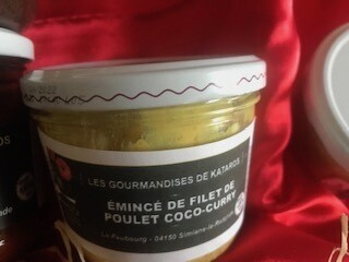 ÉMINCÉ DE FILET DE POULET COCO - CURRY