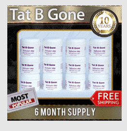 Tat B Gone 6 Month Supply - MOST POPULAR! FREE Shipping