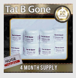 Tat B Gone 4 Month Supply Save now  FREE SHIPPING