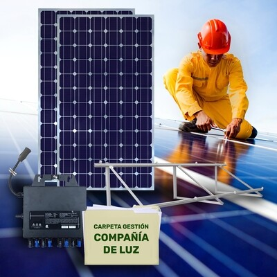 Sistema POWEN PLUS de paneles solares 405W
