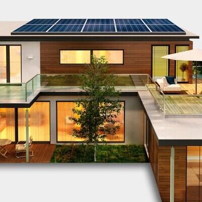 Kit 10 paneles solares POWEN de 540 W