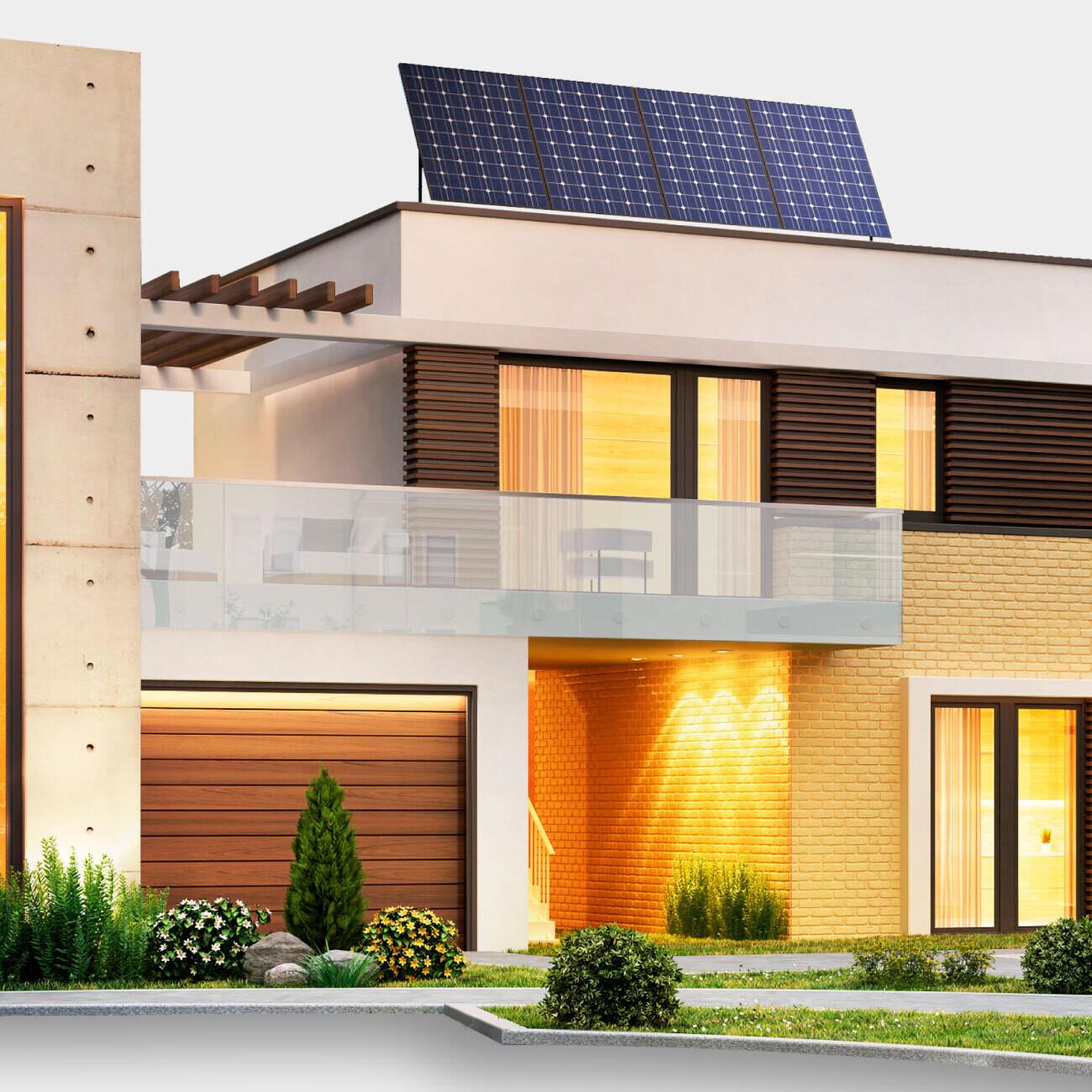 Kit de 4 paneles solares POWEN de 540 W