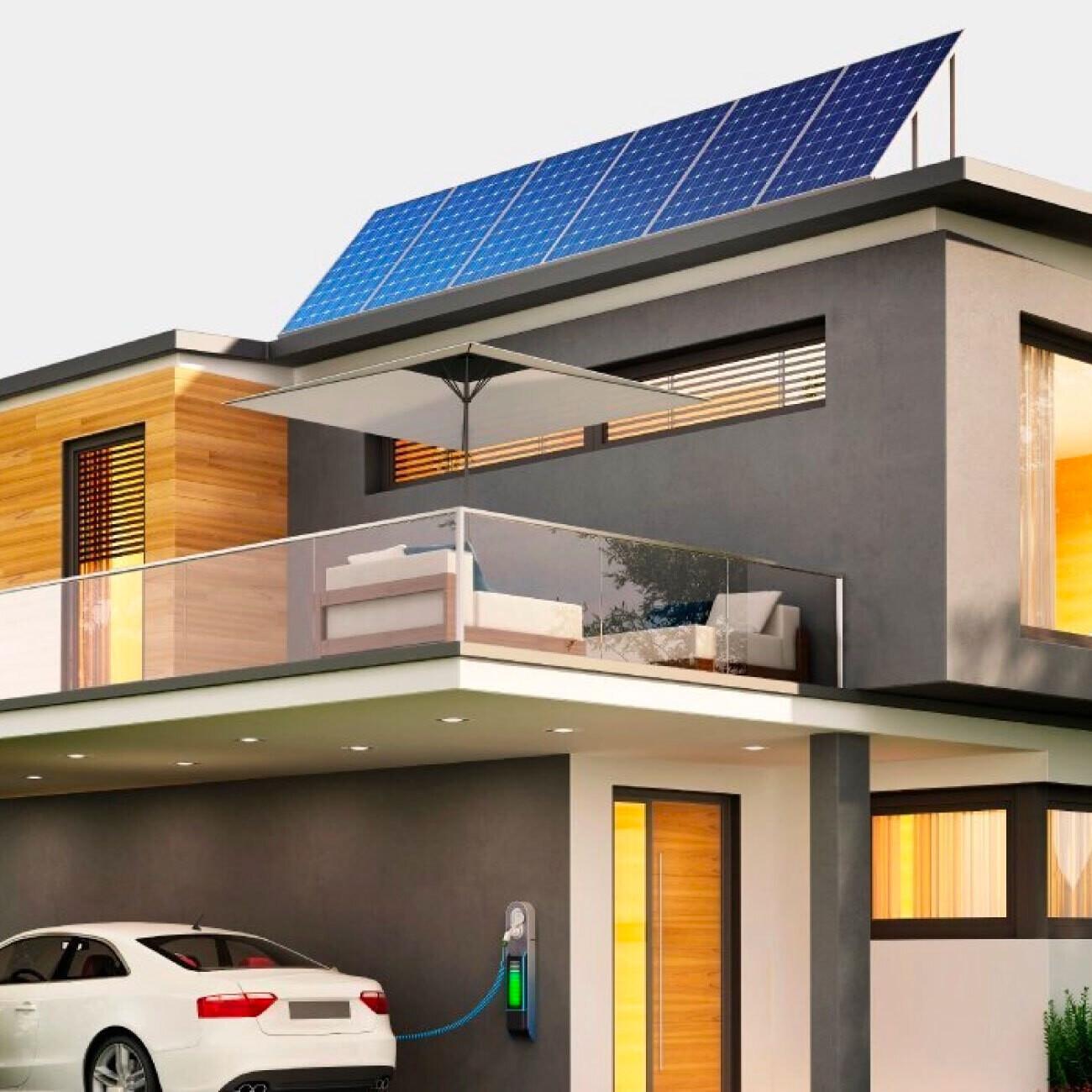 Kit de 6 paneles solares POWEN de 540 W