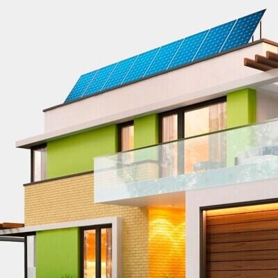 Kit de 8 paneles solares POWEN de 540 W