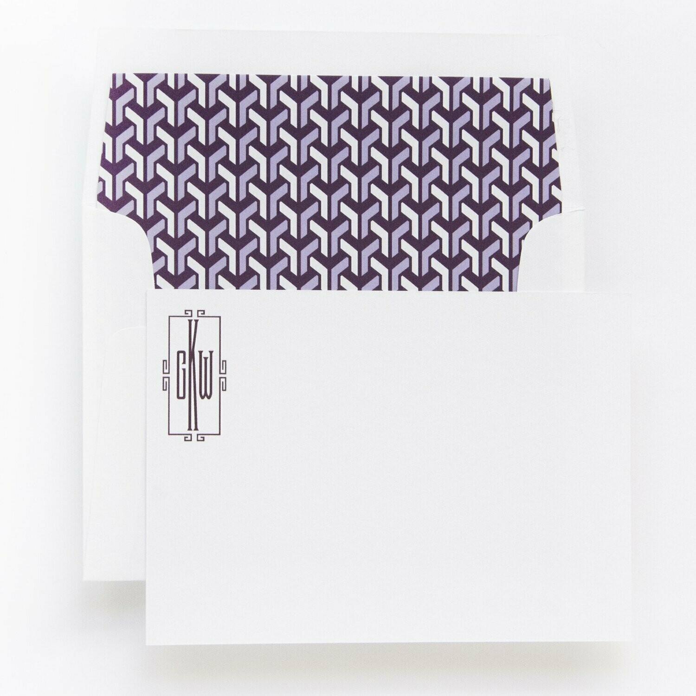 Purple Geometric