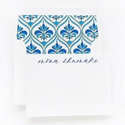 Gilded Blue Tile
