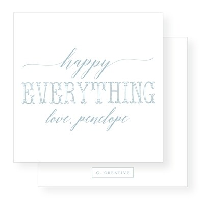 Happy Everything Decorative