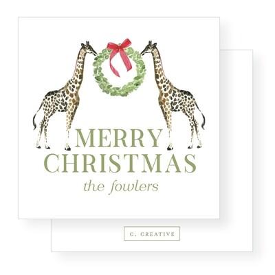 Merry Giraffes