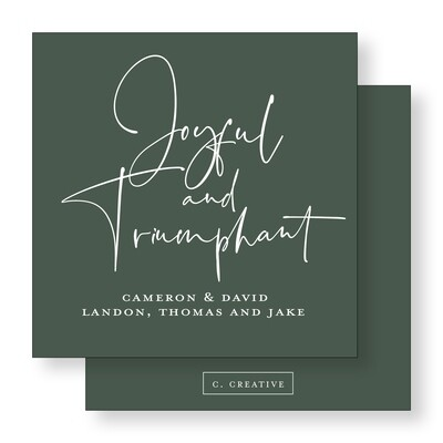 Joyful & Triumphant Green