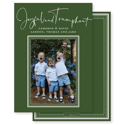 Joyful & Triumphant Green