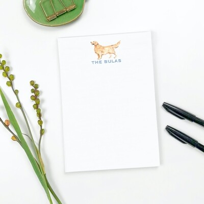 Notepad with Dogs