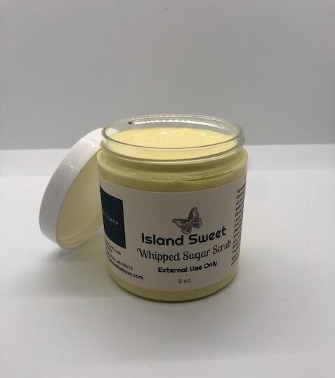 Island Sweet Whipped Sugar Scrub