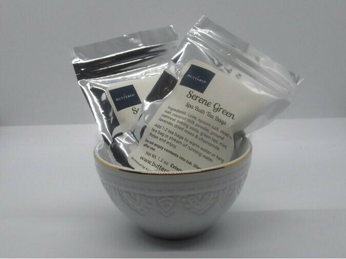 Spa Bath Tea Bags