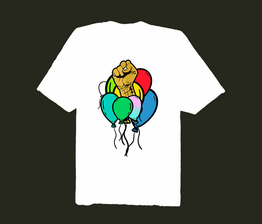 FREE THE BALLOONS TEE