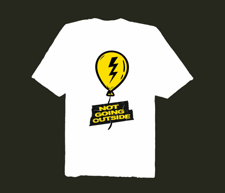 TRAPPED BALLOON TEE