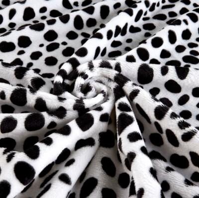 Dalmatian Luxury Faux Fur Blanket