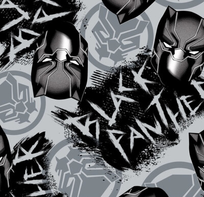 Panther Print Fleece Blanket