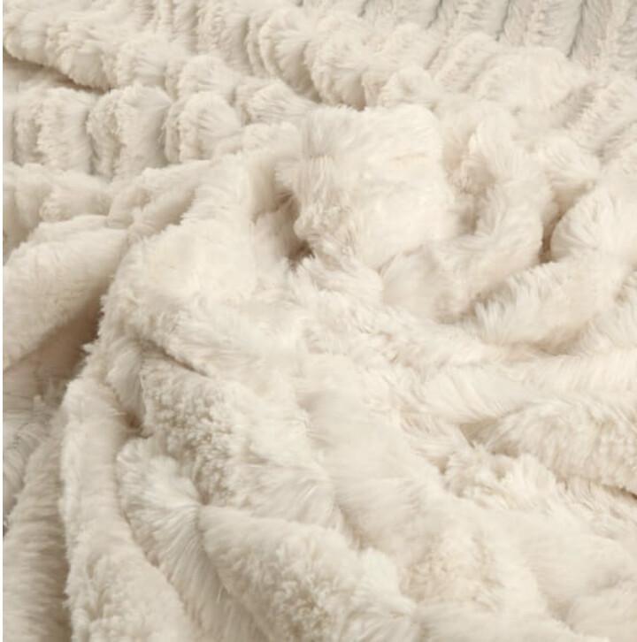 Luxury Faux Chinchilla Blanket