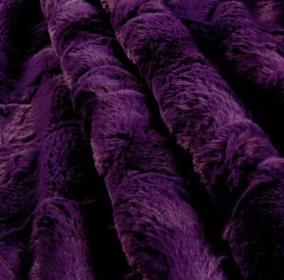 Faux  Luxury Mink Solid Blanket