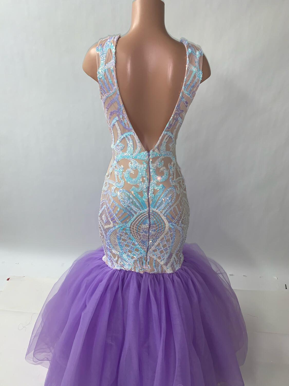 Mermaid Sequins Gown