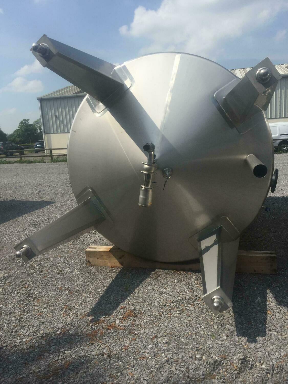 17m³ Single Skin Stainless Steel Tank