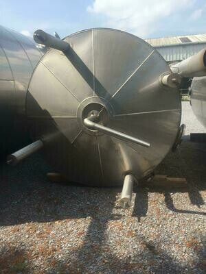 11m³ Insulated Stainless Steel Tank