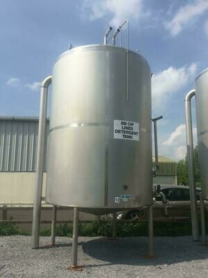 20m³ Insulated Stainless Steel Tank