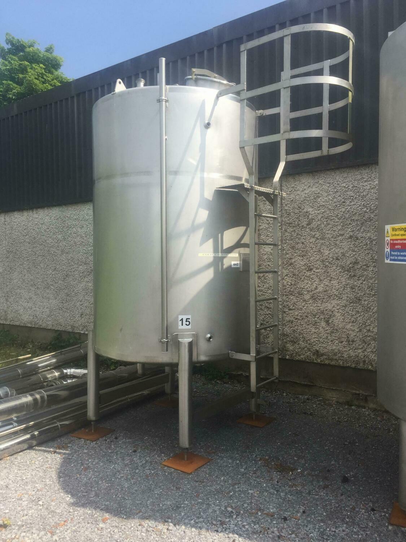 4m³ Single Skin Stainless Steel Tank