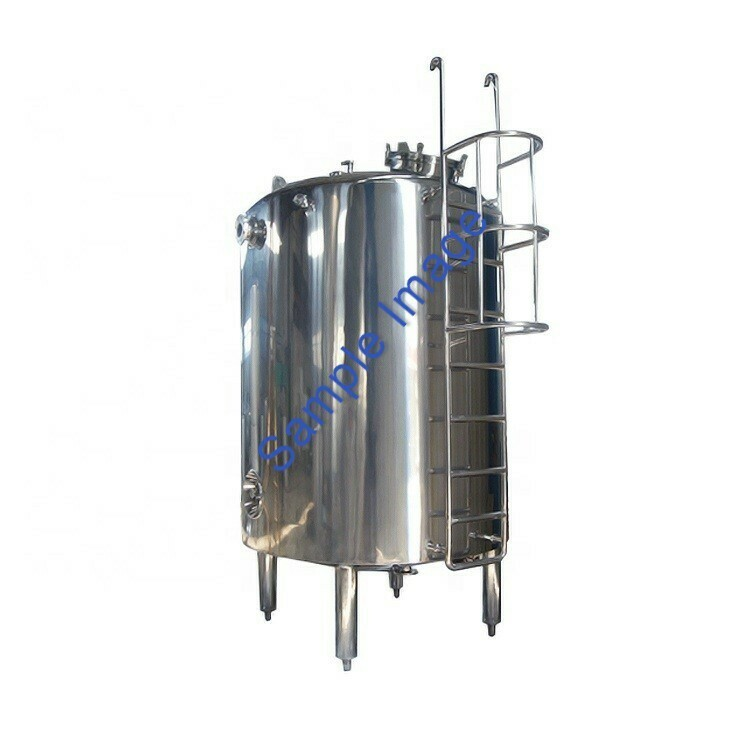 2m³ Single Skin Stainless Steel Tank