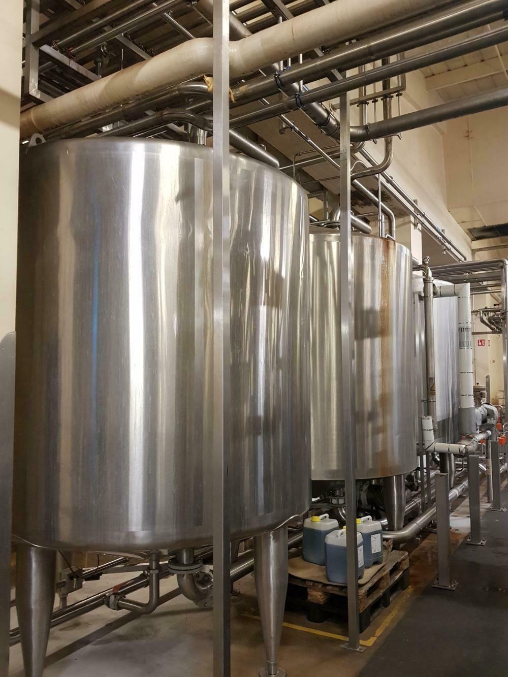 10m³ Pasilac AVS Single Skin CIP Recovered Water Tank