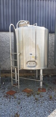 2m³ Insulated Stainless Steel Tank