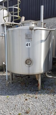 1m³ Insulated Stainless Steel Tank