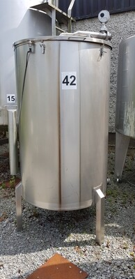 0.35m³ Single Skin Stainless Steel Tank