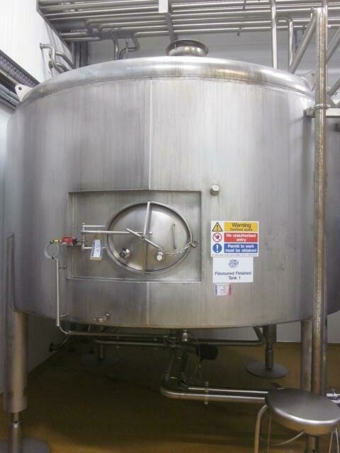 APV 10,000 Litre Stainless Steel Storage Tank