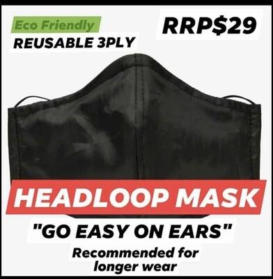 Headloop Reusable Facemask