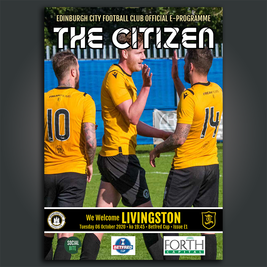 Livingston | BetFred Cup | Tue 6 Oct 2020