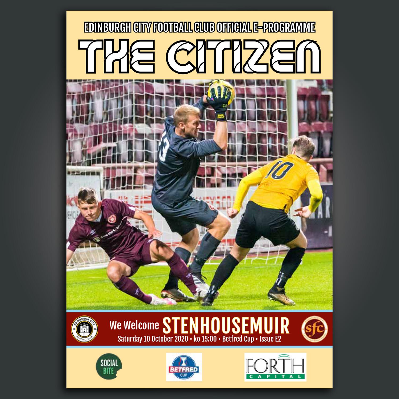Stenhousemuir | BetFred Cup | Sat 10 Oct 2020