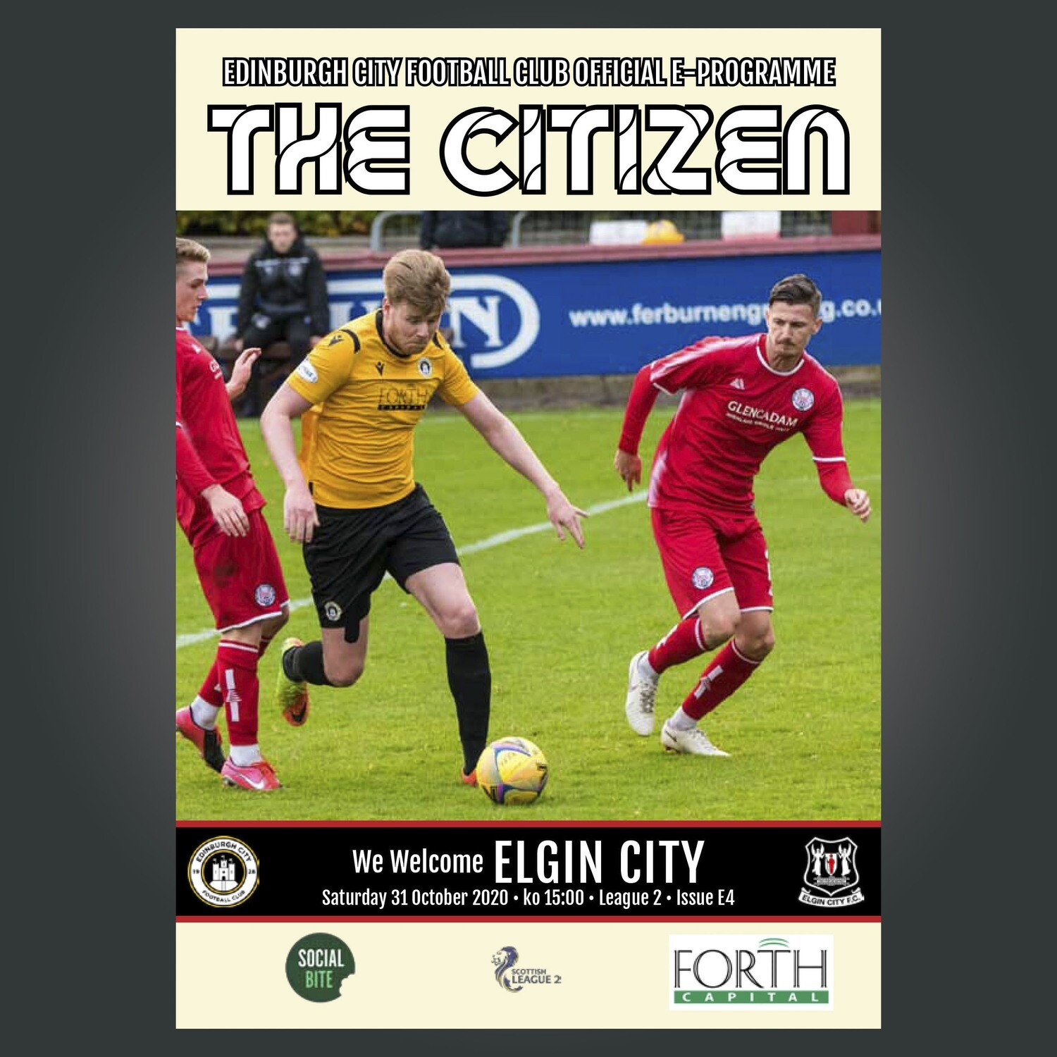 Elgin City | League 2 | Sat 31 Oct 2020