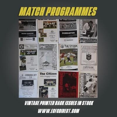 Vintage Programmes