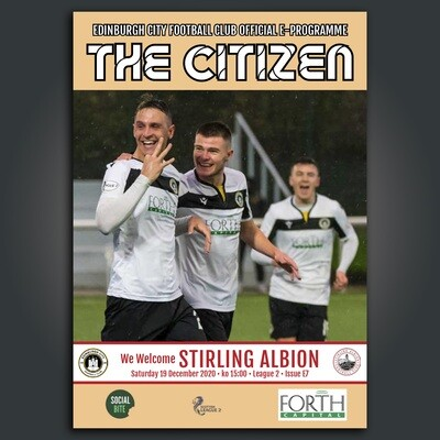 Stirling Albion | League 2 | Sat 19 Dec  2020