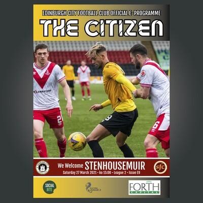 Stenhousemuir | League 2 | Sat 27 Mar 2021