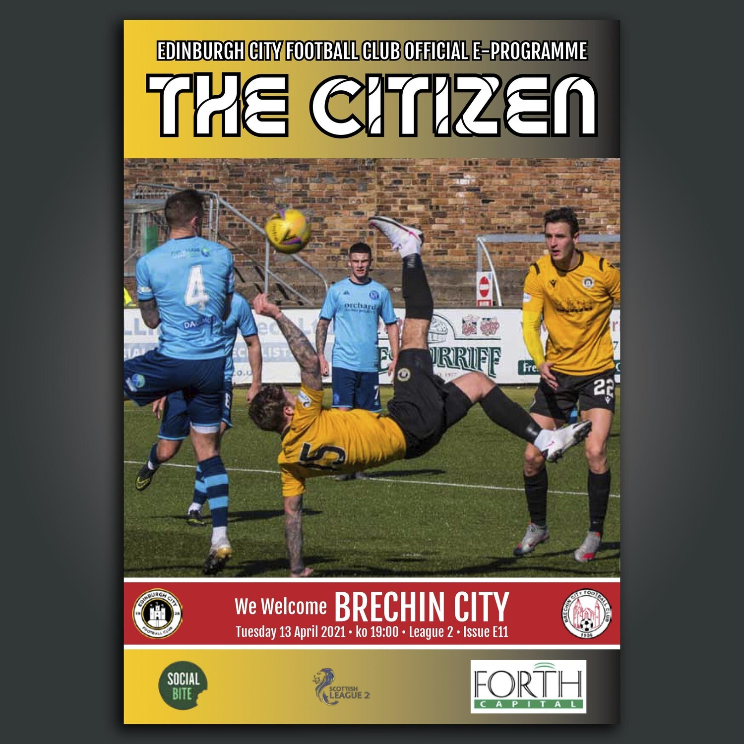 Brechin City | League 2 | Tue 13 April 2021