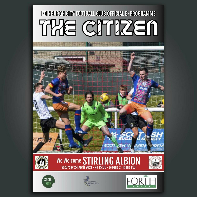 Stirling Albion | League 2 | Sat 24 April 2021