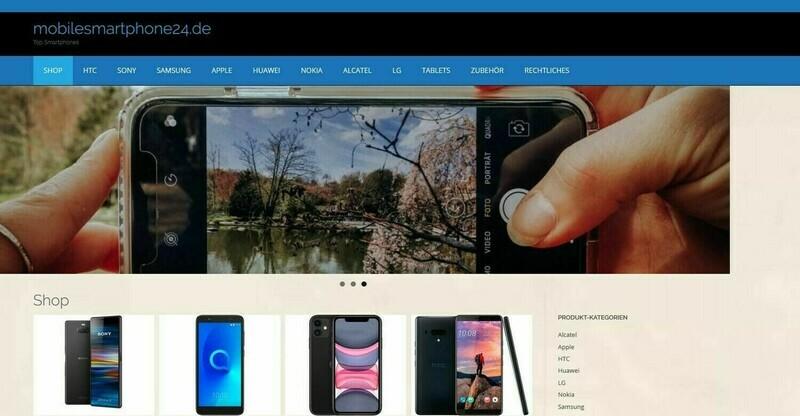 Amazon Affiliate Shop Handy Shop über 836 Artikel Online