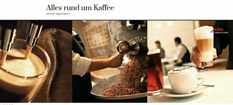Amazon Affiliate Shop Kaffee Shop