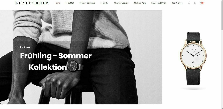 Amazon Affiliate Shop, Luxusuhren Shop mit 786 Artikel online - Wordpress