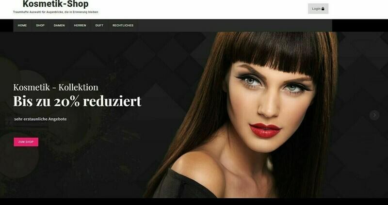 Amazon Affiliate Shop  Kosmetik Shop